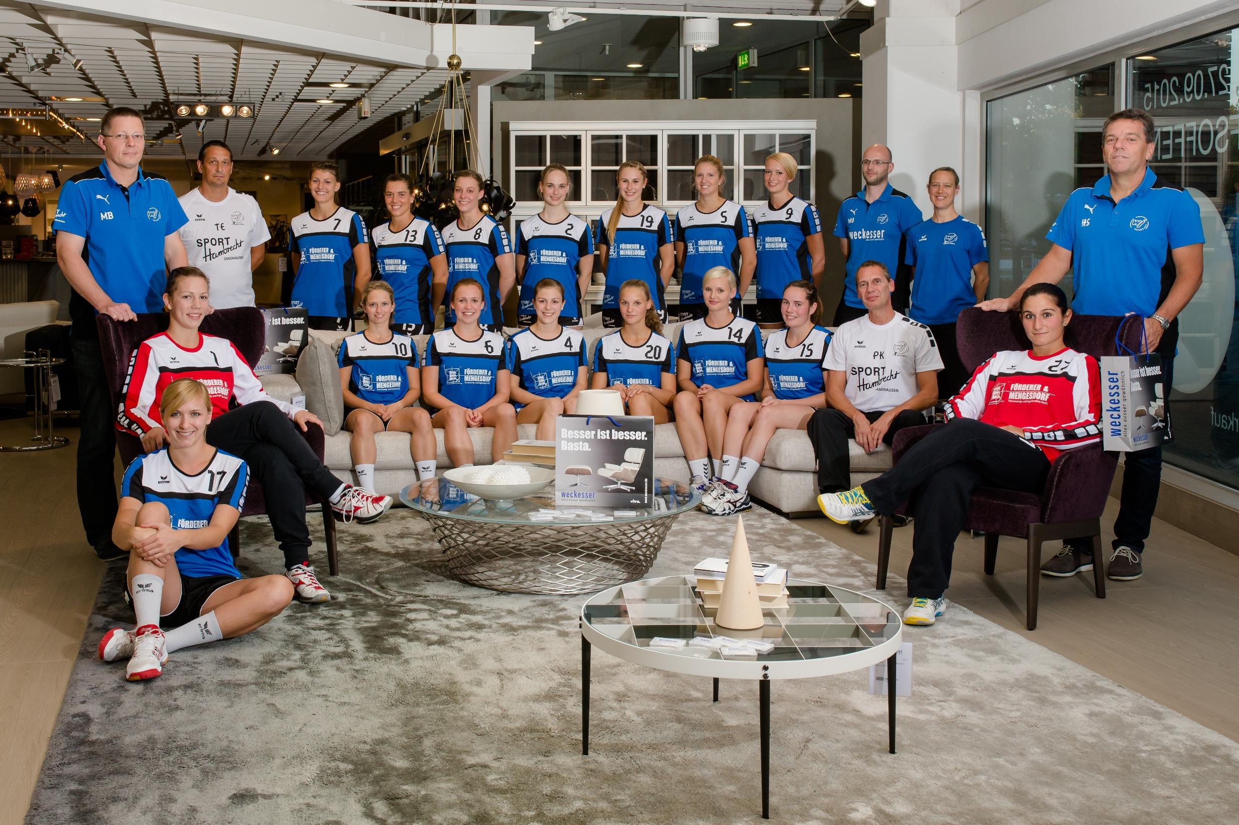 TSG Wiesloch Handball Badenliga Damen 2015_2016hp