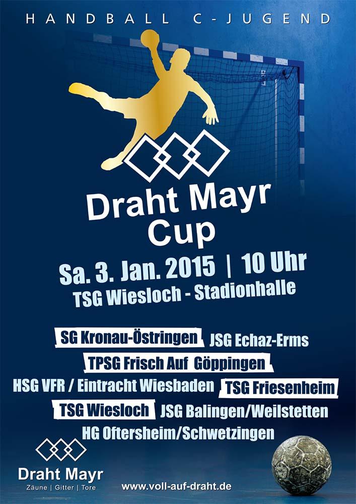 Draht-Mayr -Cup 2015/ männliche C-Jugend am Samstag 3.Januar 2015 ...