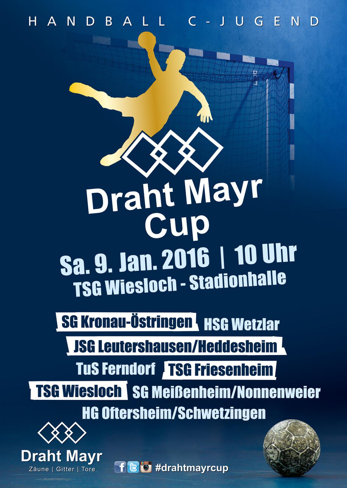 Draht Mayr Cup 2016 – TSG Wiesloch